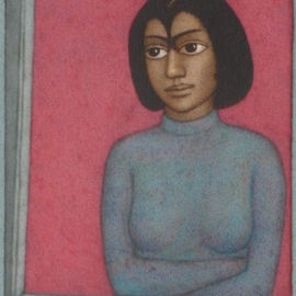Shanti Panchal 2009 By the Window - Artshouse Gallery