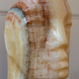 Crystal Onyx Head 1 - Paul Vanstone - Artshouse.co.uk